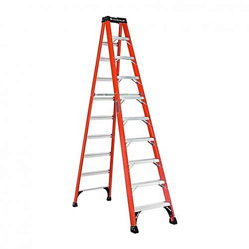 10 Feet Fiberglass Step Ladder - A-Frame