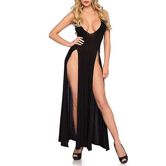 587aa71004 Fashion Lodaon Sexy Women Girl Lingerie Plus Size Women Underwear Nightdress  Long Skirt Pajamas