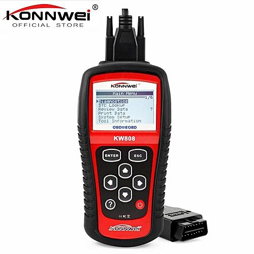 Automotive Scan Tool >> Kw808 Obd Car Scanner Obd2 Auto Automotive Diagnostic Scanner Tool Supports Can J1850 Engine Fualt Code Reader Lbq