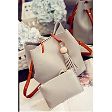 New Bucket Bag Handbags Fashion Tassels Portable Diagonal Shoulder Bag