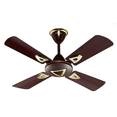 Short Blade Ceiling Fan 36 Inch (CF-3672) - Brown