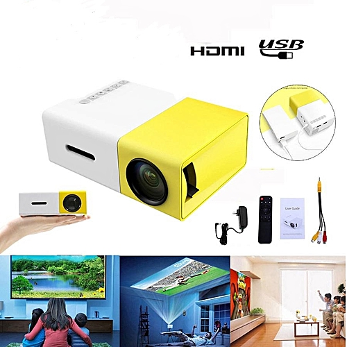 Rechargeable Led Projector With Inbuilt Battery