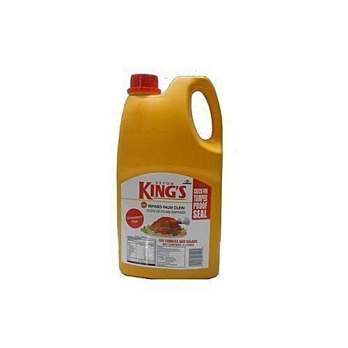 DEVON KING'S Vegetable Oil - 3 Litres X 6cans