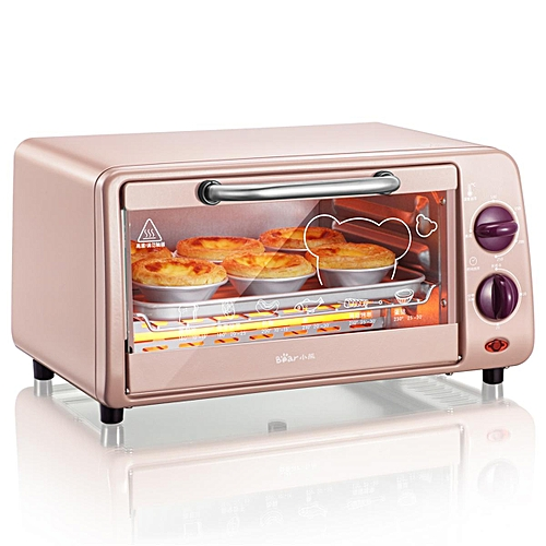 9L 800W Convection Electric Toaster Oven Stainless Steel Broiler Countertop Bake