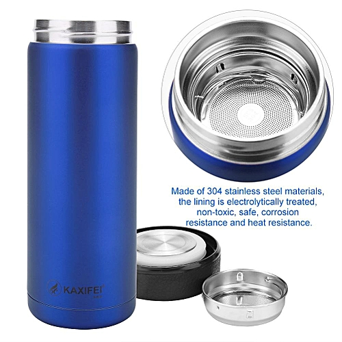 Stainless Steel Vacuum Thermal Insulated Travel Mug Bottle Flask Coffee Cup