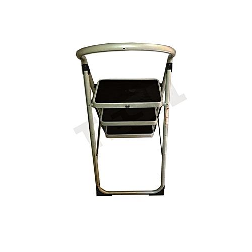 TÜV GS Open Foldable 3 Steps Steel Ladder