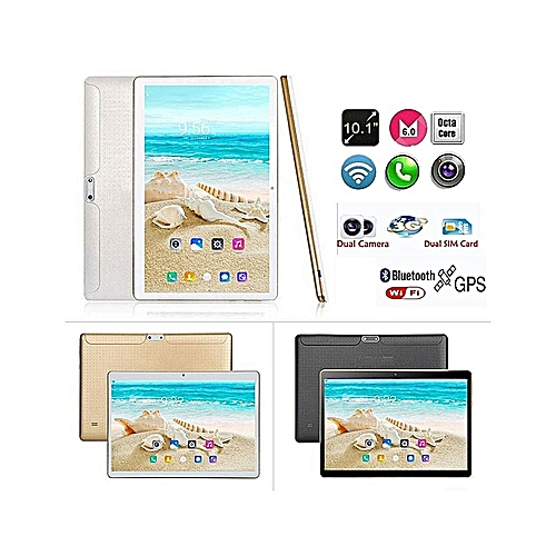 10.1'' 4G+64GB Android 7.0 Tablet PC HD Bluetooth Double 2 SIM Octa Core Camera Hot Sold