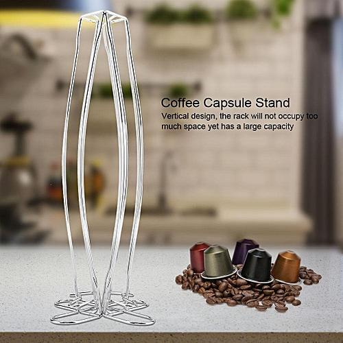 Home Office Coffee Pod Capsules Holder Rotatable Storage Rack Dispenser For Nespreeso