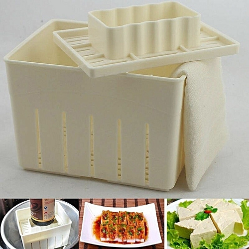 Plastic Tofu Press Mold DIY Homemade Tofu Maker Pressing Mold Kit