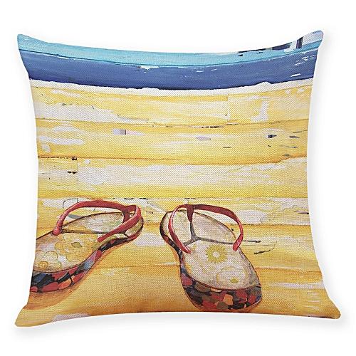 Fashion Home Decor Cushion Cover Summer Beach Throw Pillowcase Pillow Covers