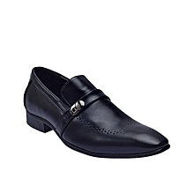 Formal Shoe With Side Clip  - Black height=220
