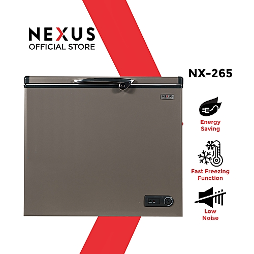 200 Litre Chest Freezer NX-265 - Silver