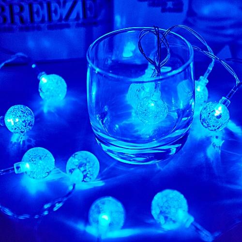 KCASA 2M 20 LED Bubble Ball String Lights LED Fairy Lights For Festival Christmas Halloween