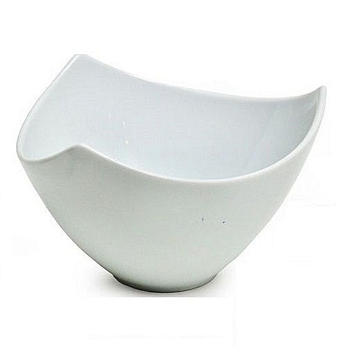 LOTUS TRIANGULAR SALAD BOWL - 20cm Diameter