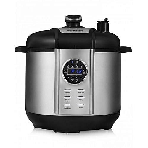 Exquisite Digital Pressure Cooker - 1000W - Stainless Steel