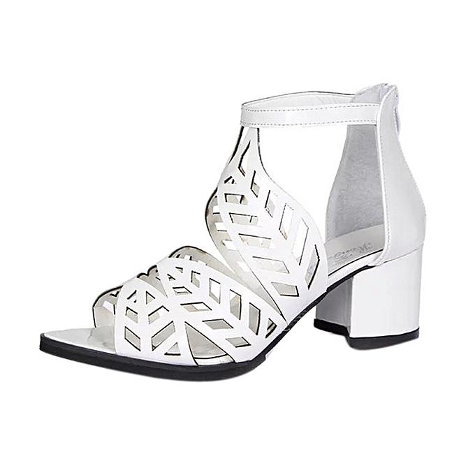 9f528a1d6732 Bliccol High Heel Shoes Vintage Summer Women Shoes Sandals Platform Wedge  High Heels Bohemian Shoes -