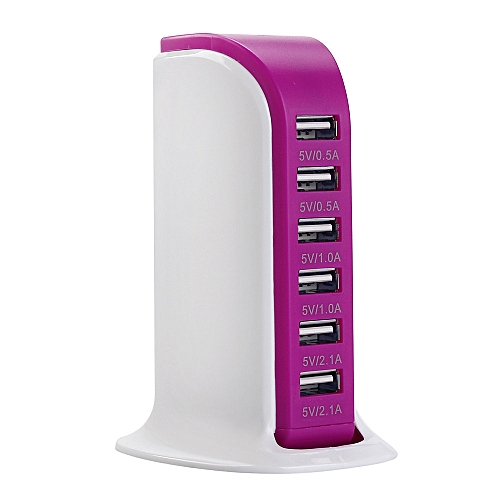 USB Charging Station Hub 30W 5 Port USB Wall Charger Power Adapter PP
