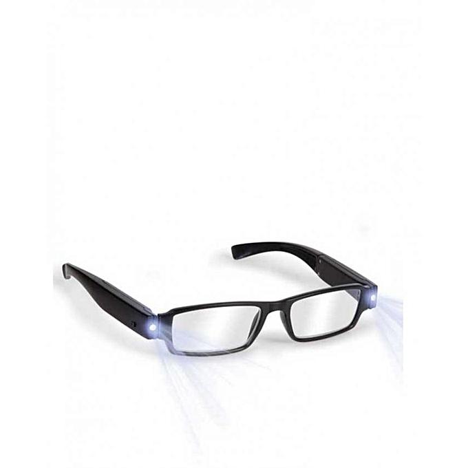 5c0fc679679 Fashion Unisex Stylish Reading Glasses With Dual Led Light