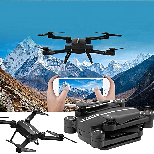 2.4G 4CH G-Sensor Flying Drone HD Camera WIFI FPV Folding RC Quadcopter Selfie