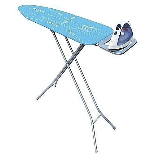 Ironing Table With Iron