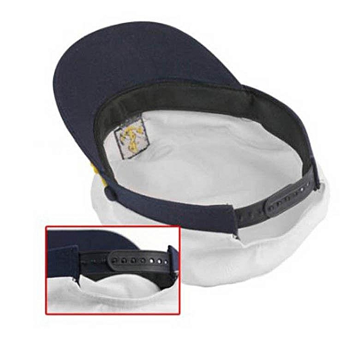 5d5d652a ... Benhongszy Unisex Skipper Ship Sailor Navy Yacht Military Captain  Nautical Hat Cap Period