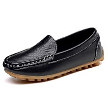 abd504ba39ae6f Casual Loafers Shoes Boys Girls Plush Moccasin Slip On