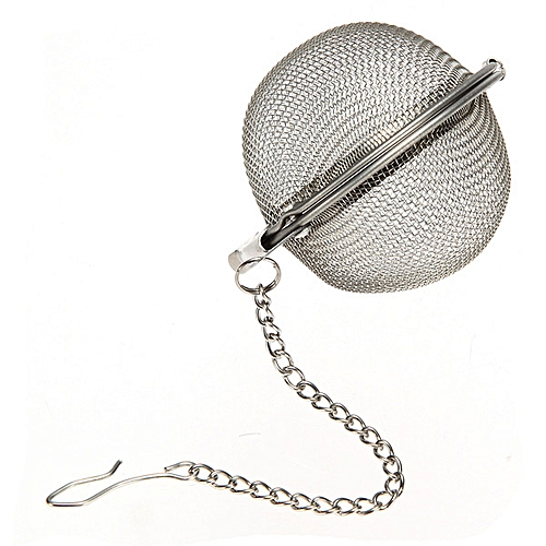 3Size Stainless Steel Sphere Locking Spice Tea Ball Strainer Mesh Infuser Filter S