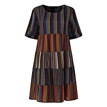 75f0a96ca99f2 Womens Short Sleeve Striped Party Shirt Dresses - As Picture