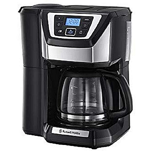 Unique Coffee Machine Chester Grind & Brew- Black
