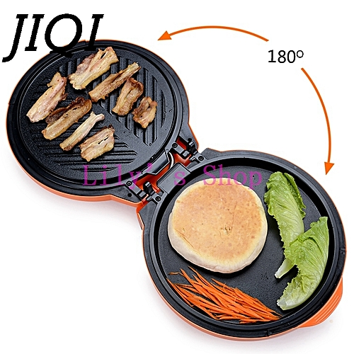 JIQI Electric Crepe Makers Pizza Pancake Baking Machine Electrical Grill Griddle Frying Machine Pie Cooking Tool Pan 1300W EU US
