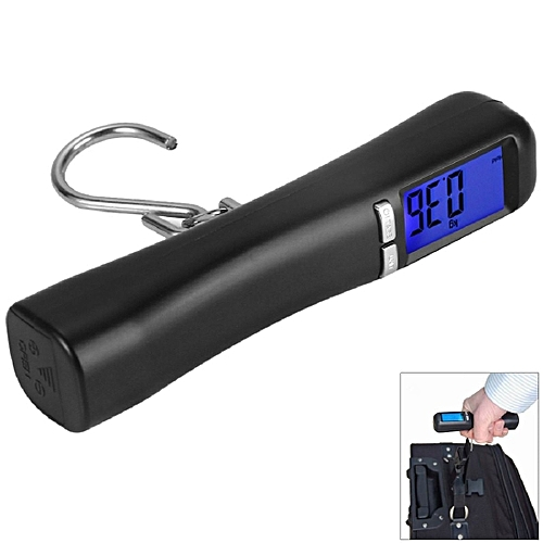 40kg X 10g Mini Portable LCD Electronic Scale Weight Fishing Luggage Scale Digital Travel Hanging Hook Scale