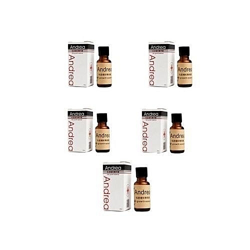 Andrea Hair Growth Essence Oil Serum- (20ml )(Pack Of 5 Pieces)