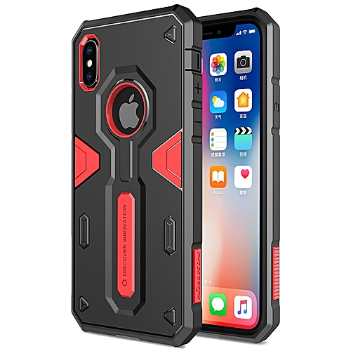 reputable site 4d1e4 a95ad Iphone X Defender Back Case Nillkin. Black, Red