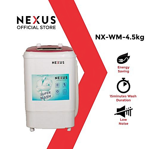4.5kg Single Tub Washing Machine (NX-WM-4SASR)