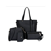 3640f0417b Ladies Handbag-3 SETS- Black