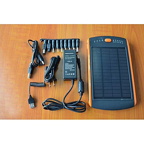 Hot 23000mAh Solar/Electrical Power Bank For Laptop 12V 16V 19V