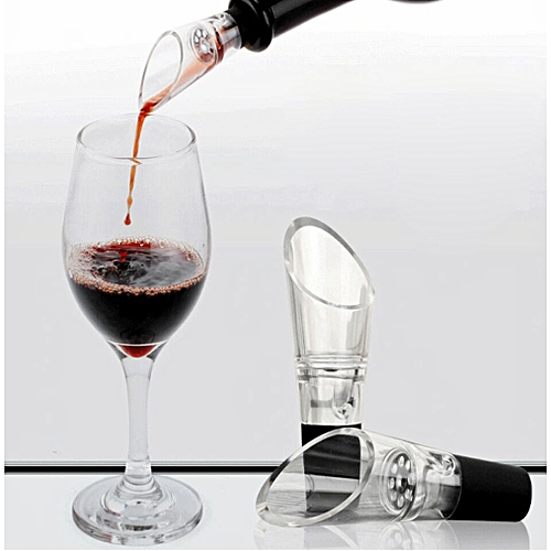 Acrylic Wine Aerator Essential Set Quick Aerating Pouring Wine Pouring Device