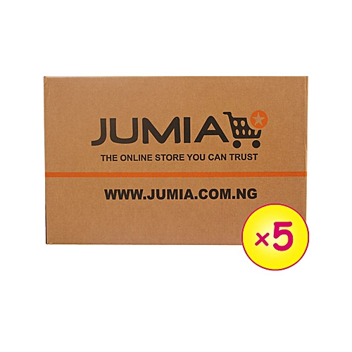 5 Large Branded Cartons (005) (495mm x 250mm x 350mm)