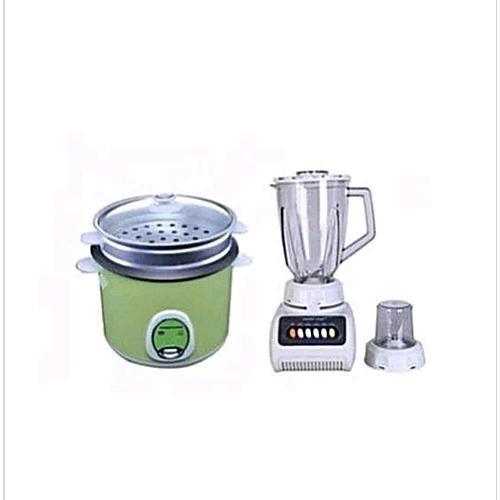 1.8L Rice Cooker & Blender Bundle