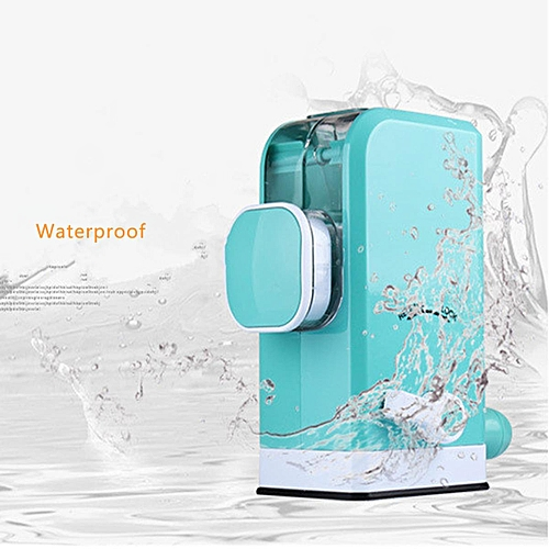 Multifunction Hand Crank Manual Meat Grinder With Powerful Suction Base Home Blue