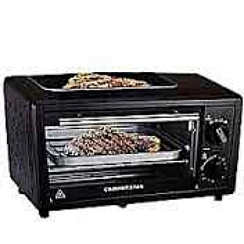 11-Litre Electric Oven Toaster Oven With Top Grill