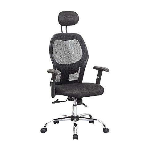 Executive Office Mesh Chair - Black