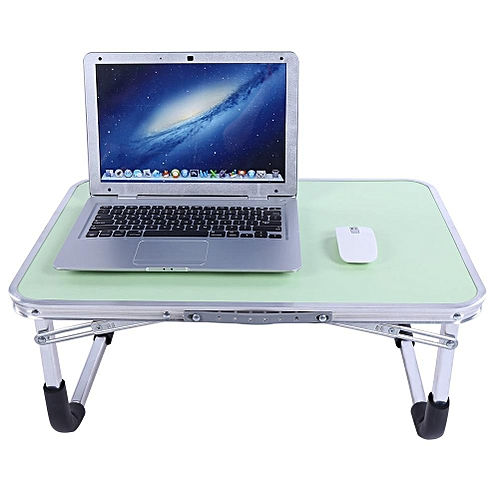 61*41*29cm Foldable Laptop Table Stand Portable Aluminum Alloy Multi-functional Bed Desk