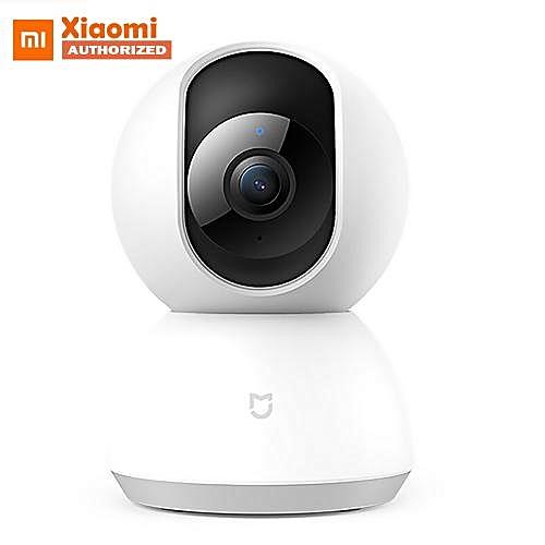 WiFi IP Camera 1080P 360 Degrees Home - US Plug - White