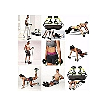 Used, Revoflex Abs Roller Exercise Equipment,Professional Abs Wheel Roller Supports,Abdominal Workout Machine for sale  Nigeria