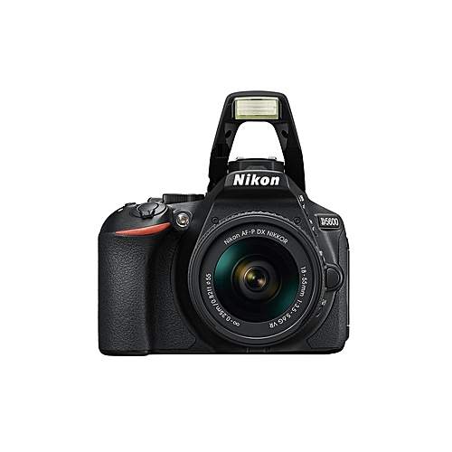 "D5600 DSLR Professional Camera With 18-55mm Lens, 24.2MP DX-Format CMOS Sensor, 3.2"" Screen"