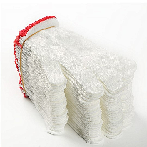Cotton Hand Gloves - 12pairs