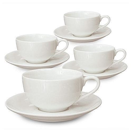 6 Pieces Tea Cups And Saucer