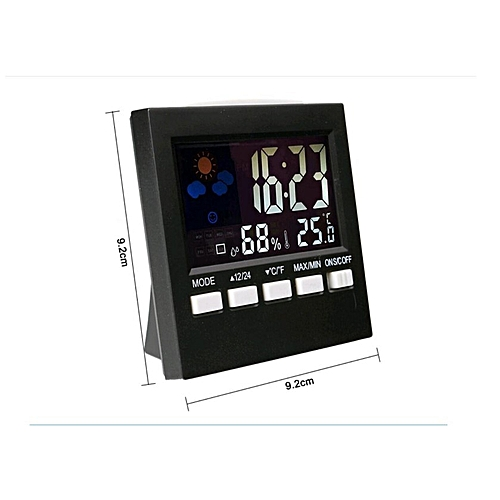 Digital Clock Multifunction Thermometer/hygrometer Backlight