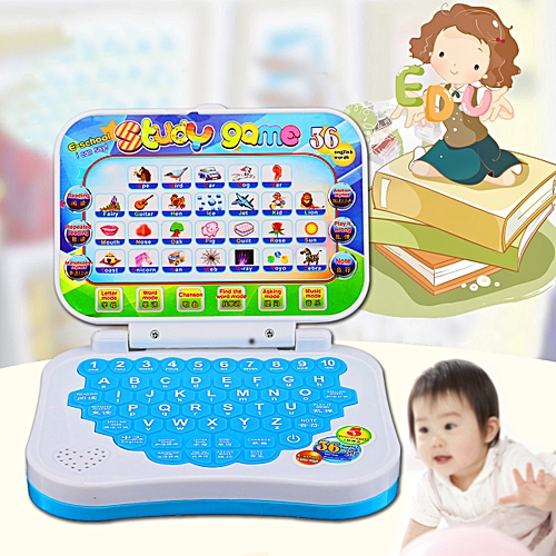 New Foldable Baby Kid Toddler Educational Study Game Computer Toy Learning Machine Toy Gift For Children